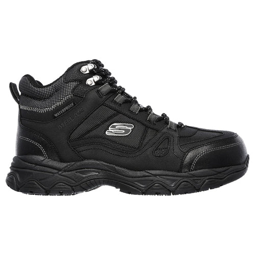 Skechers Mens Safety Shoe - 77147EC - Black