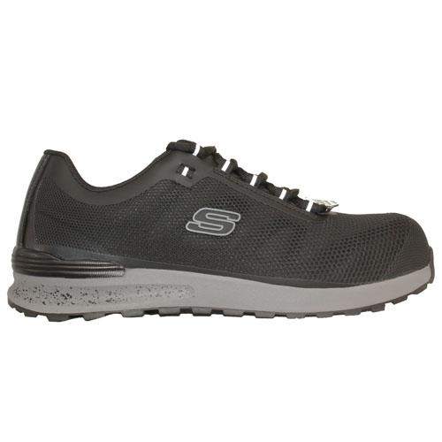 Skechers Mens Work Shoes - 77180 - Black