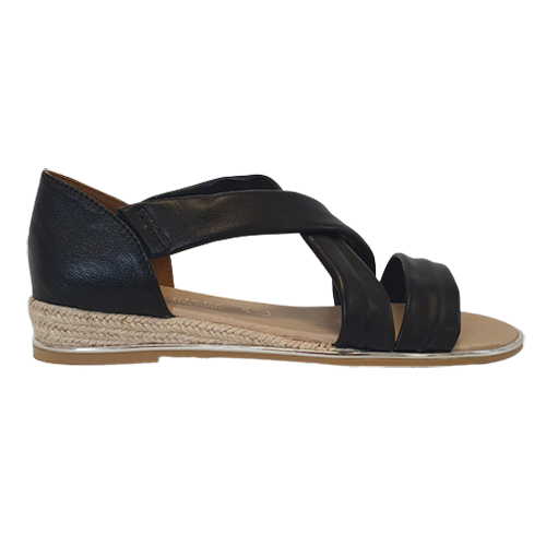 Kate Appleby Flat Sandal - Watling - Black