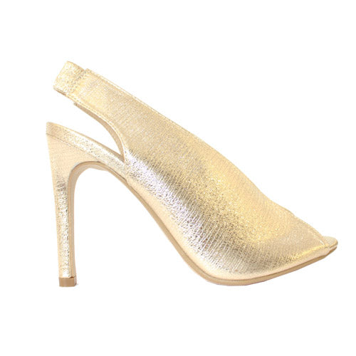 Millie & Co. Heeled Sandal - Caroline - Gold