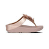 FitFlop Sandals - Fino Leaf - Rose Gold Toe Post