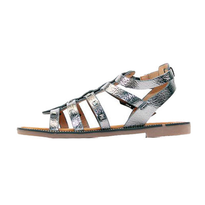 Escape Flat Sandal - Boone - Pewter