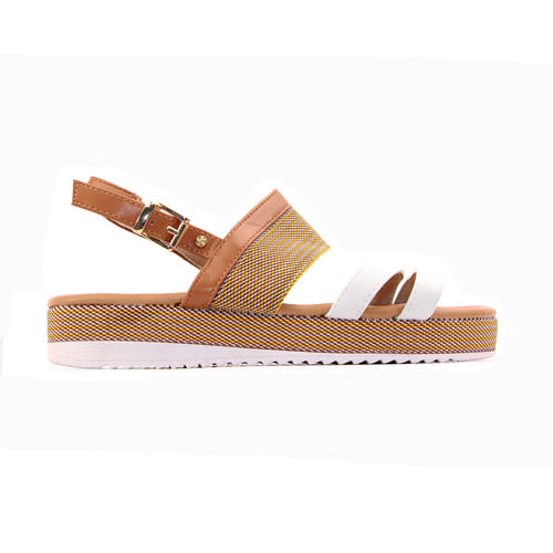 Escape Ladies Wedge Sandal - Omaha - Beige