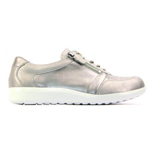 Waldlaufer  Wide Fit Trainers   - 872M01 - Silver