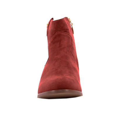 Escape  Ankle Boots - Rumford - Rust