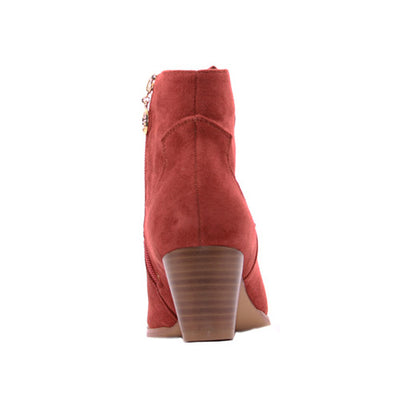 Escape Ladies Ankle Boot - Rumford - Rust