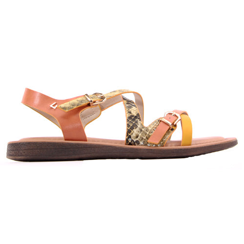 Una Healy Ladies Flat Sandal - Closer to You - Yellow