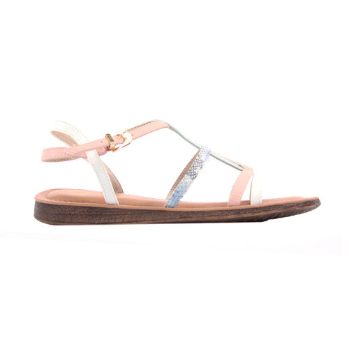 Una Healy Ladies Flat Sandal - Need you Now - Blue