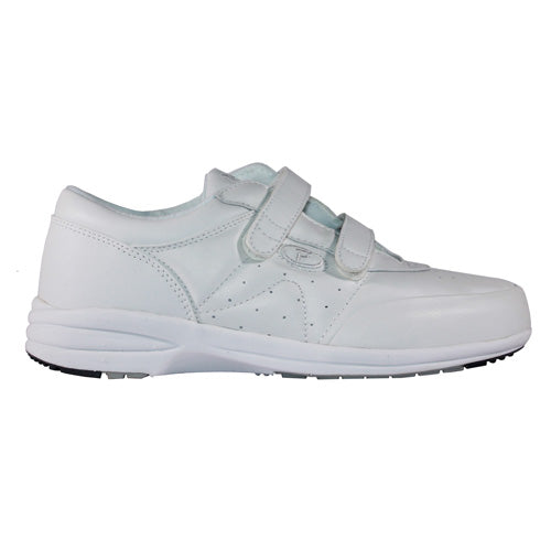 Propet -  W3845  - White - Velcro Walking Shoe