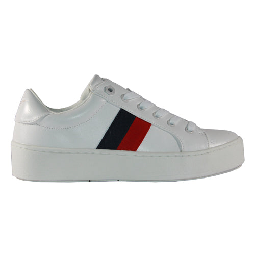 Tommy Bowe Ladies Trainers- Hooban - White