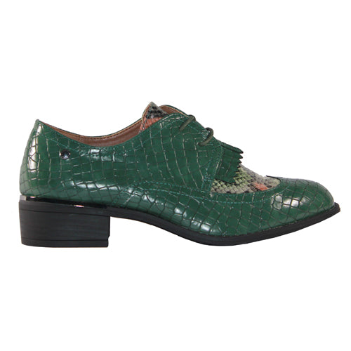 Patrizio Como Brogues - Plenza - Green