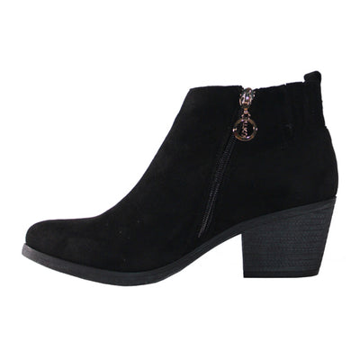 Escape  Ankle Boots - Shelby - Black