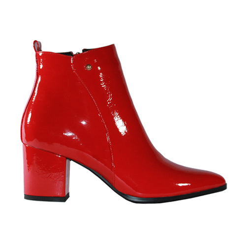 Redz  Ankle Boots -  X3933 - Red Patent