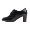 Patrizio Como Block Heeled Shoes - Este  - Navy