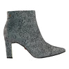Una Healy Printed Ankle Boots - Sister Golden - White/ Black
