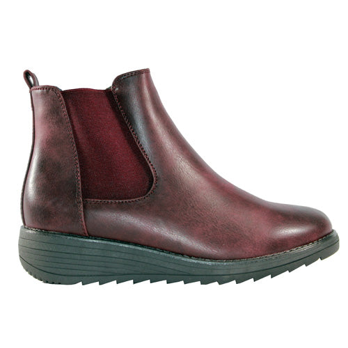 Cipriata  Ankle Boots - L048 - Burgundy