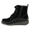 Cipriata Wedge  Ankle Boots - L333 - Black Patent