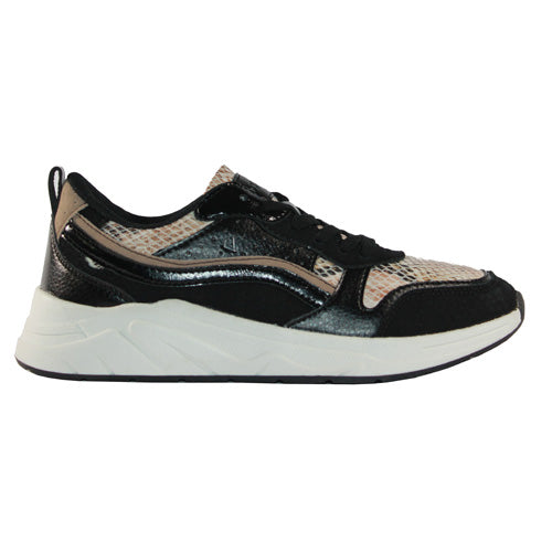 Una Healy Retro Trainers - We Back - Black Multi