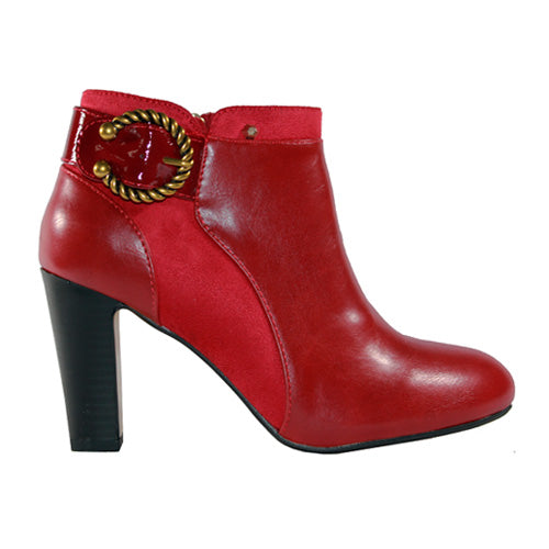 Kate Appleby Ankle Boots - Lochailort - Red