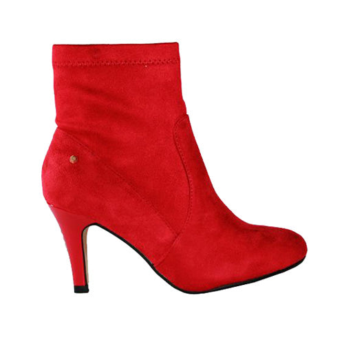 Kate Appleby Ankle Boots - Aberfeloy - Red