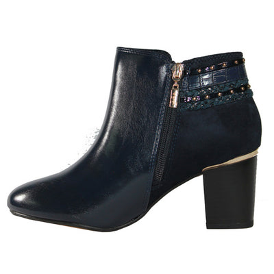 Kate Appleby Ankle Boots - Castlebay - Navy