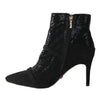 Una Healy Dressy Ankle Boots - Vision Of Love - Black