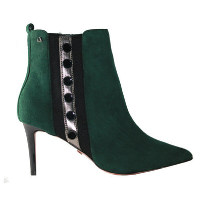 Una Healy Dressy Ankle Boots - Lonesome Cowboy - Green