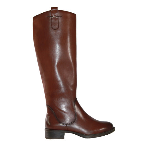 Marco Tozzi Leather Knee Boot - 25505-25 - Tan