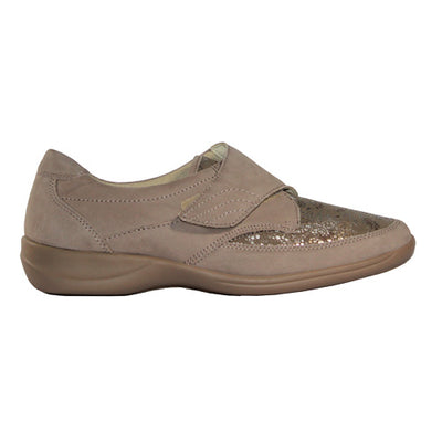 Waldlaufer Wide Fit Shoes  - M54306 - Beige