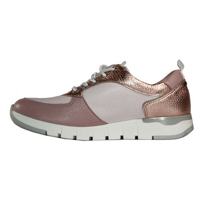 Waldlaufer Wide Fit Trainers- 908012 - Pink
