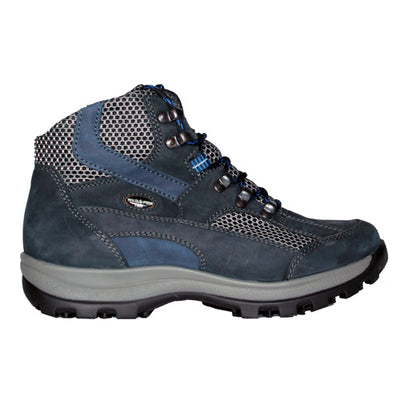 Waldlaufer Ladies Wide Fit Hiking Boots - 471900 - Navy