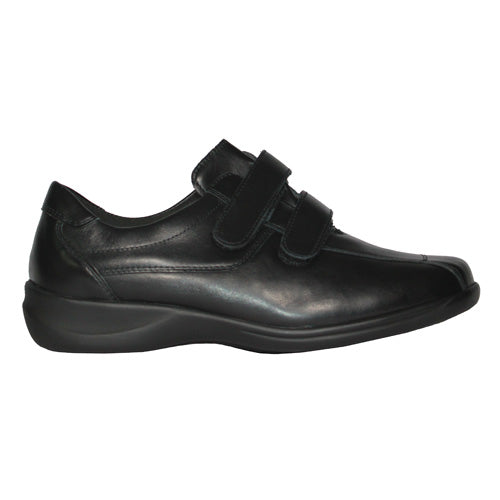Waldlaufer Extra Wide Fit Velcro Shoes -  M54302 - Black