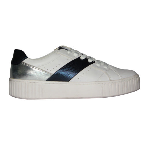 Marco Tozzi Trainers - 23762-24 - White/ Navy