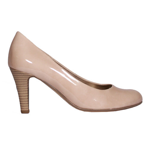Gabor High Heel Shoe - 31.310 - Nude Patent