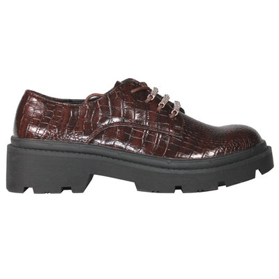 Claudia Ghizzani Brogues - 2.VV1401 - Brown Croc