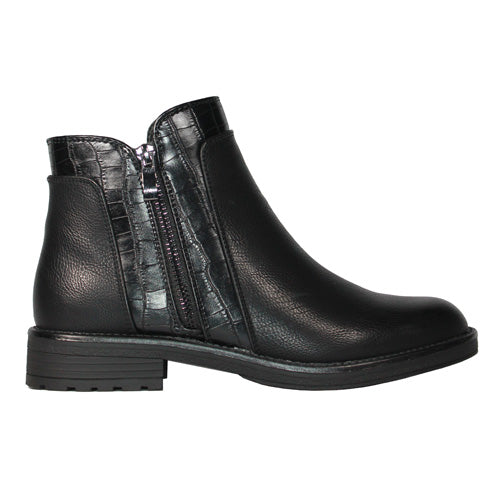 Claudia Ghizzani Ankle Boots - 2.AB2205 - Black