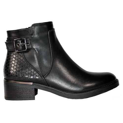 Claudia Ghizzani Ankle Boots - 2.AB9902M - Black