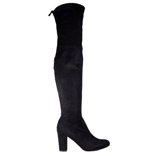 Claudia Ghizzani Knee Boots - 2.462501  - Black