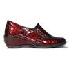 Suave  Wedge Shoes - Rosebud - Burgundy