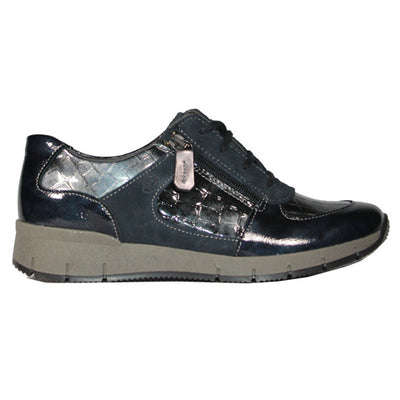 Suave  Walking Shoes - Jenny - Navy