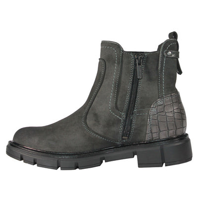 Mustang Ladies Ankle Boots - 1333506 - Grey