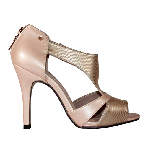 Kate Appleby Peep Toe Heels - Royal Lady - Pink