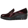 Wonders Wedge Loafers - C33223 - Burgundy