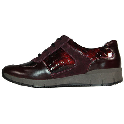 Suave Walking Shoe - Jenny - Burgundy