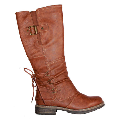 Redz Knee Boot - 8A20344 - Tan