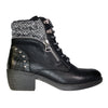 Redz Ladies Ankle Boot - Y064 - Black