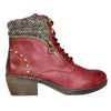 Redz  Ankle Boots- Y064 - Red