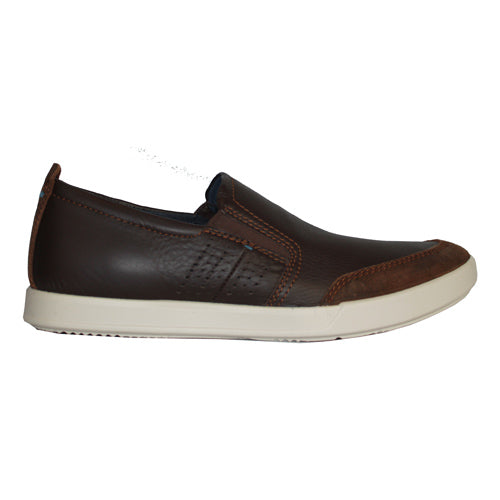 Ecco Mans Casual Shoe - 536214 - Brown