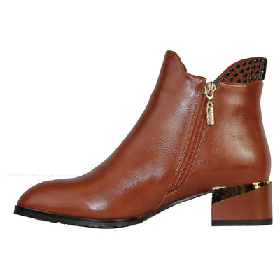 Kate Appleby Ankle Boots - Acle - Tan