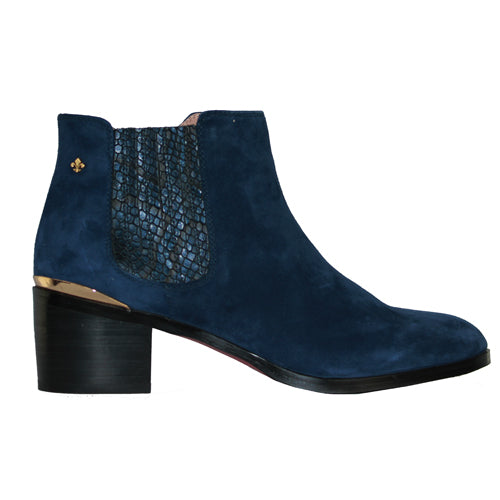 Amy Huberman Ankle Boots - Love Simon - Navy